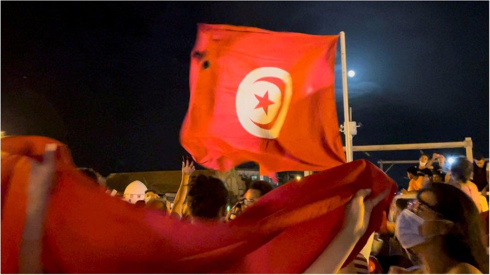من مظاهرات سابقة في تونس