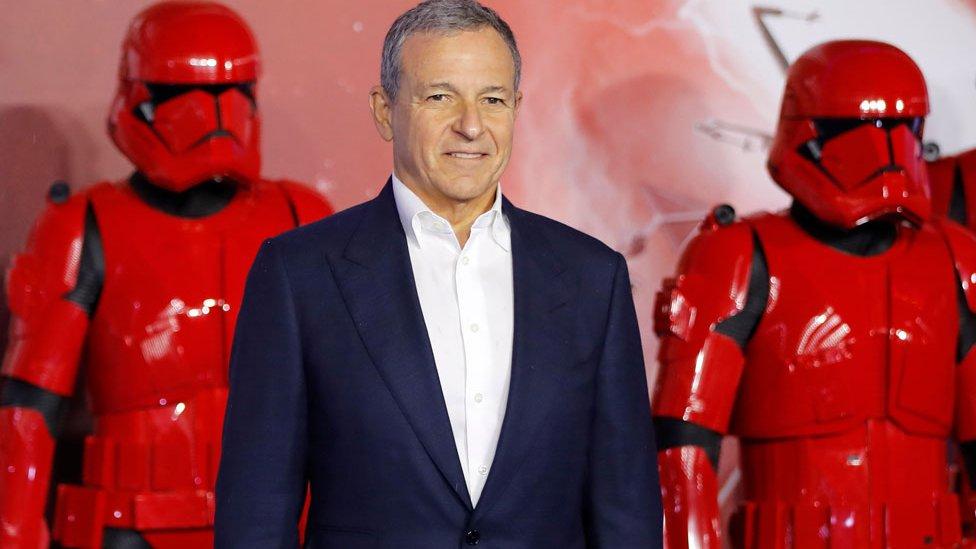 Bob Iger en el estreno europeo de Star Wars: The Rise of Skywalker.
