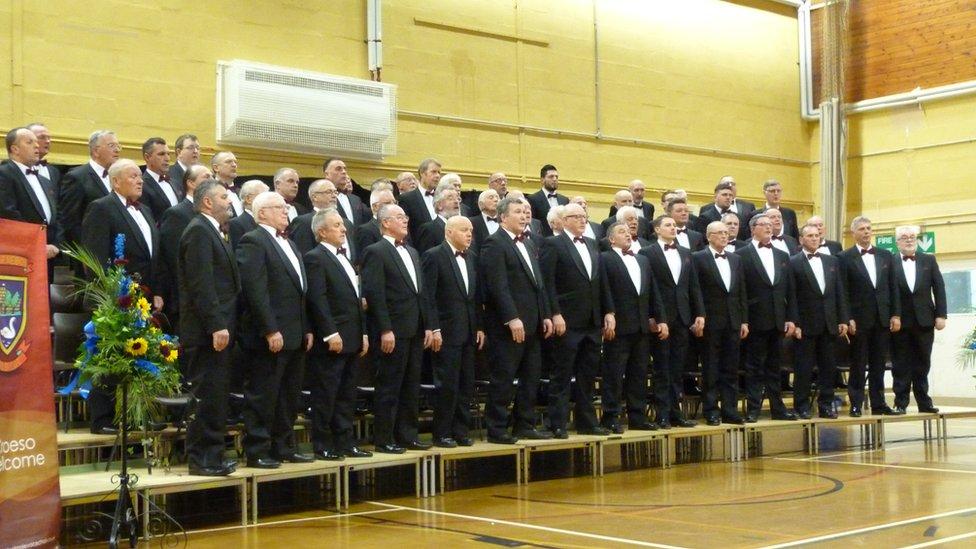 Caldicot choir and Côr y Boro attend royal celebration