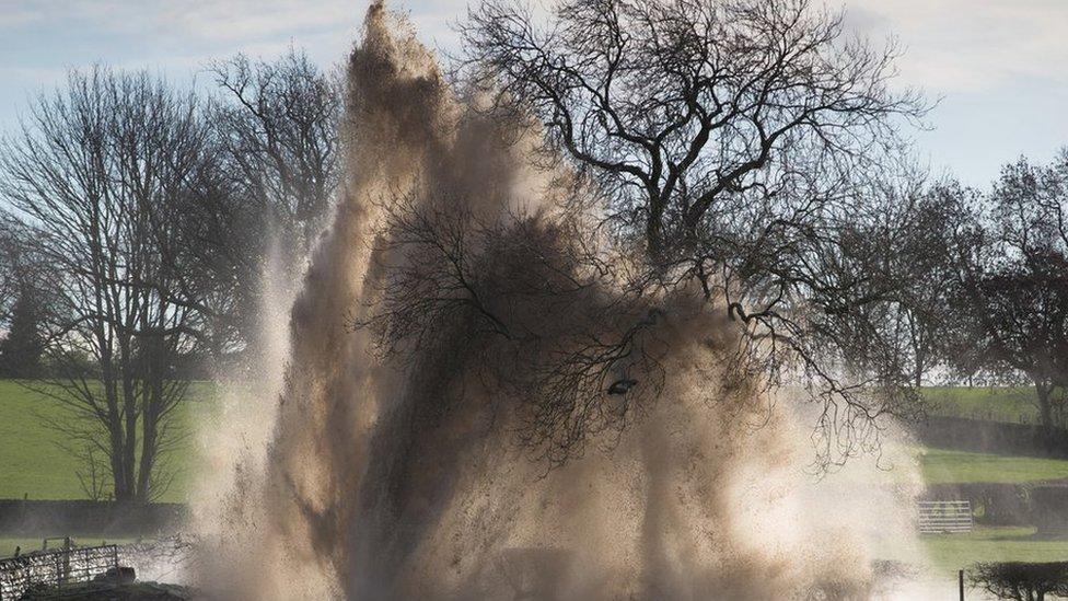 'Devastation' after Derbyshire village floods due to pipe rupture
