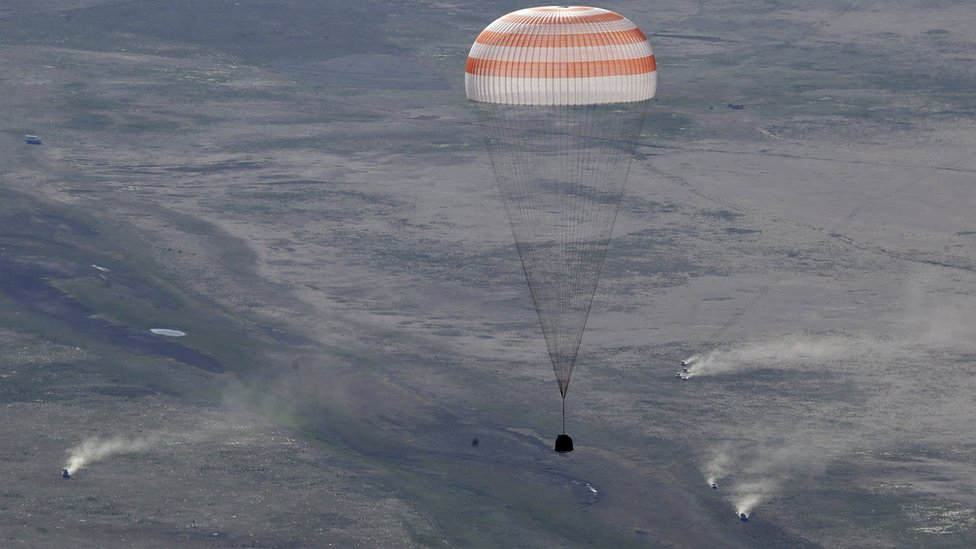 Kapsul Soyuz.
