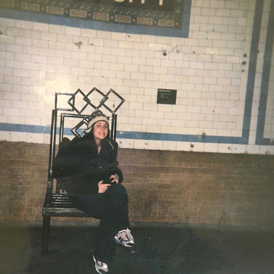 辛德曼在等地鐵