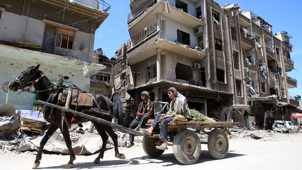 Syria 'chemical attack': OPCW investigators to be allowed into Douma