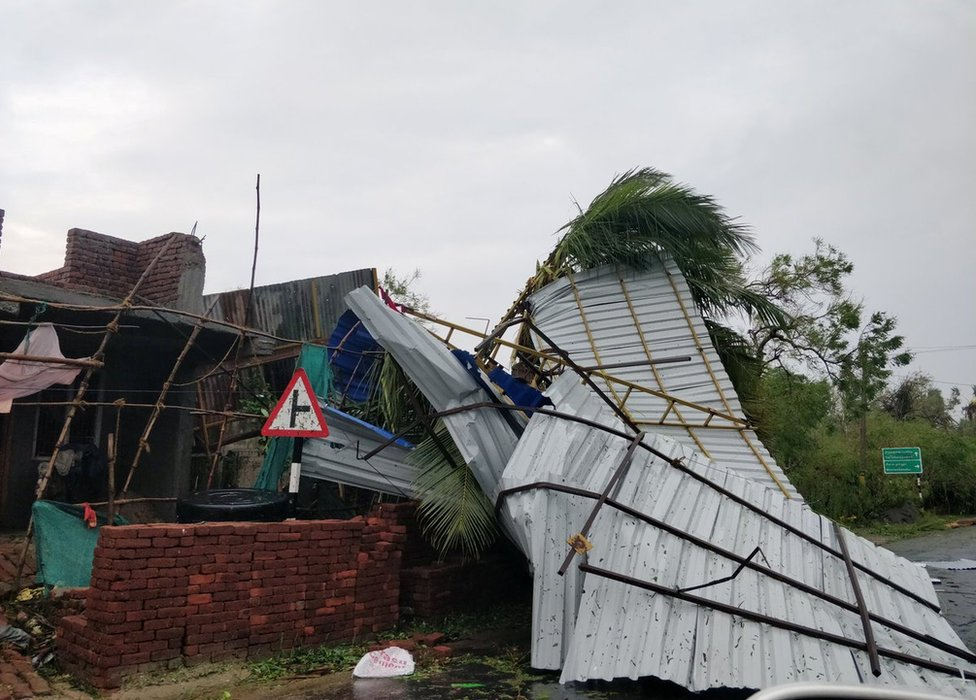 Cyclone Gaja has killed at least 46 people so far in the coastal state.