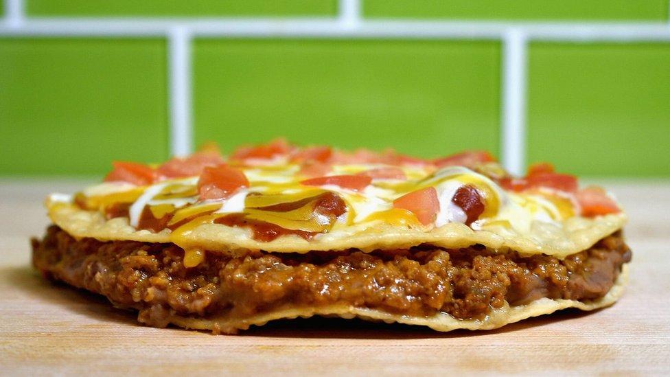 La Mexican Pizza de Taco Bell