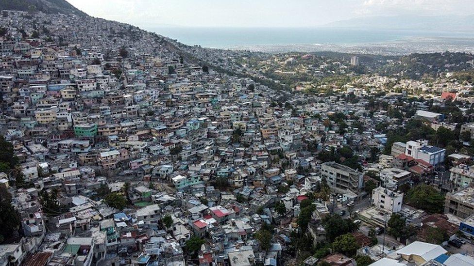 Vista panorámica de Puerto Príncipe.