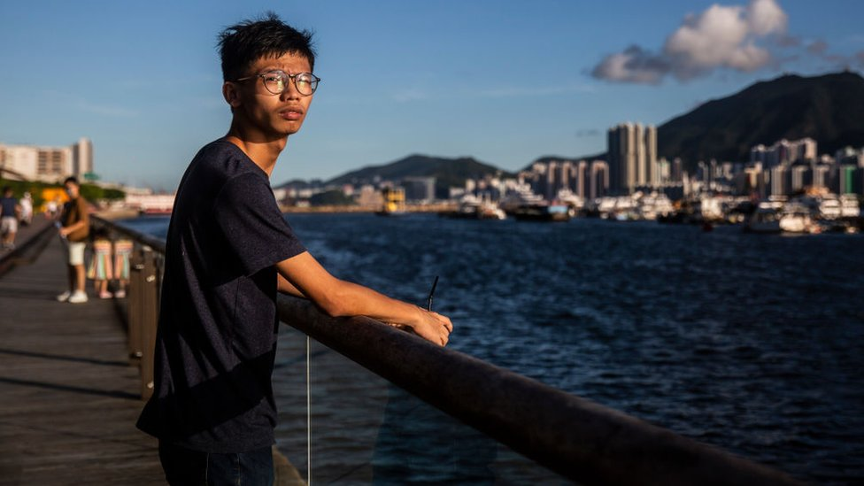 Tony Chung in Hong Kong