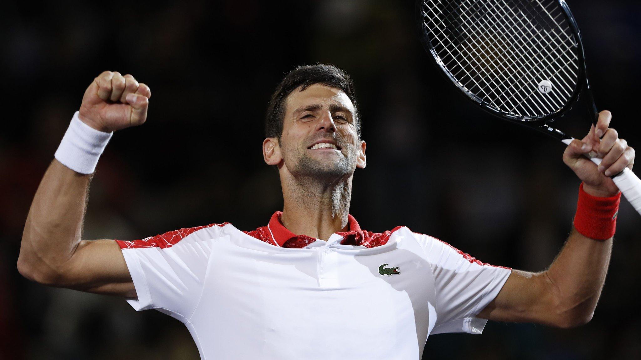 Djokovic extends winning run to 18 to take Shanghai title