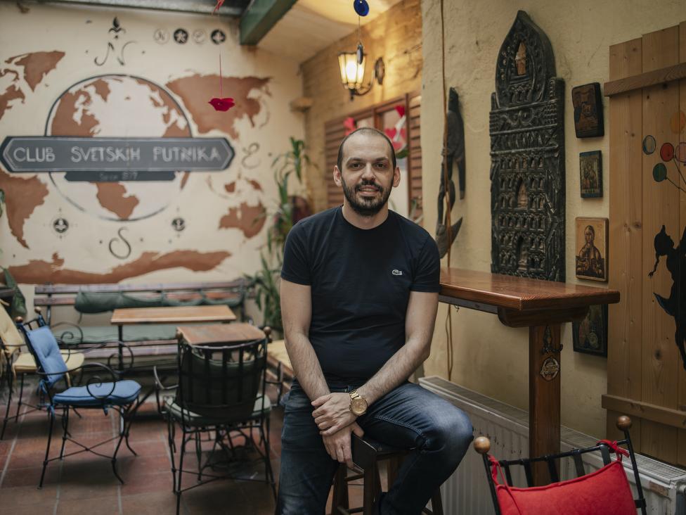 Tamer Erdem Murić vodi računa o Klubu svetskih putnika