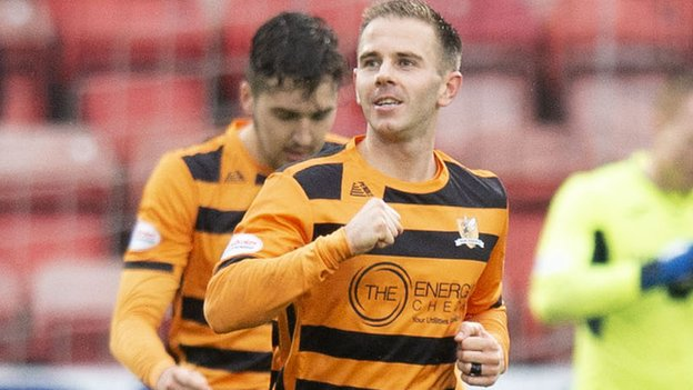Greenock Morton 0-2 Alloa Athletic: Visitors claim second win of season