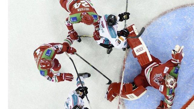 Cardiff Devils v Belfast Giants