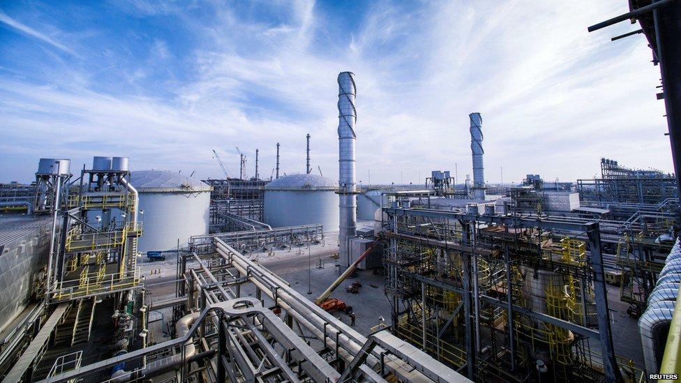 沙特阿美天然氣工廠