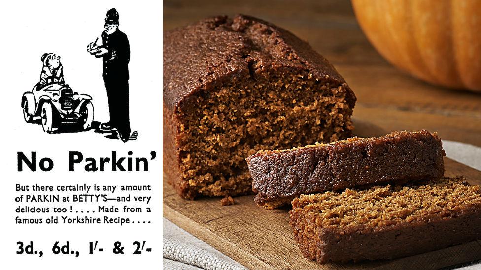 Parkin from Betty's Ltd
