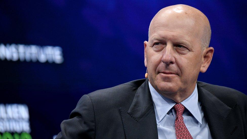 Goldman CEO David Solomon
