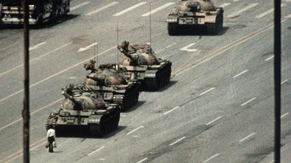 """""""Tank Man"""" in Beijing"""