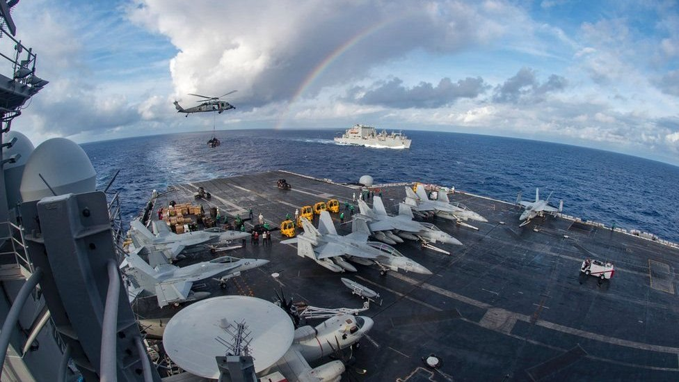 USA, China, South China Sea