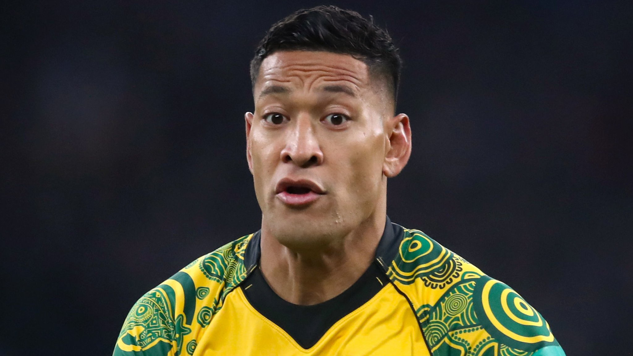 Israel Folau: Tonga keen for full-back to switch allegiance to them from Australia