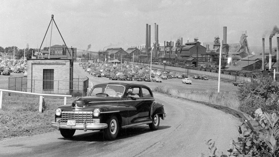 Youngstown en los años 50