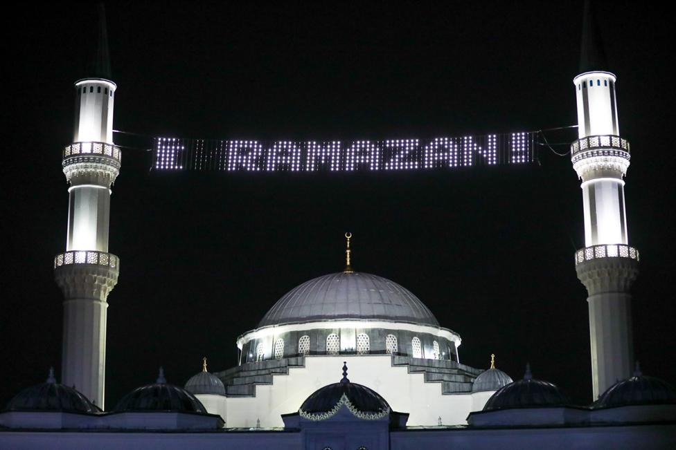 """صورة خارجية لمركز """"ديانت"""" الإسلامي في العاصمة الأمريكية واشنطن"""