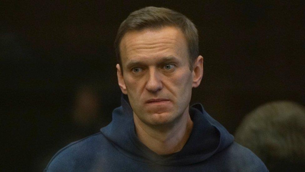 Alexei Navalny at sentencing