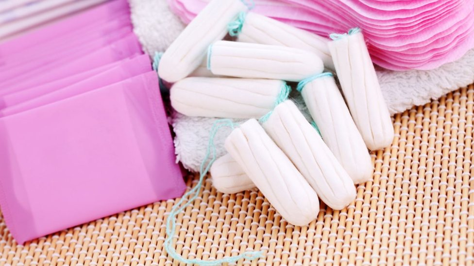 Sanitary towels and tampons
