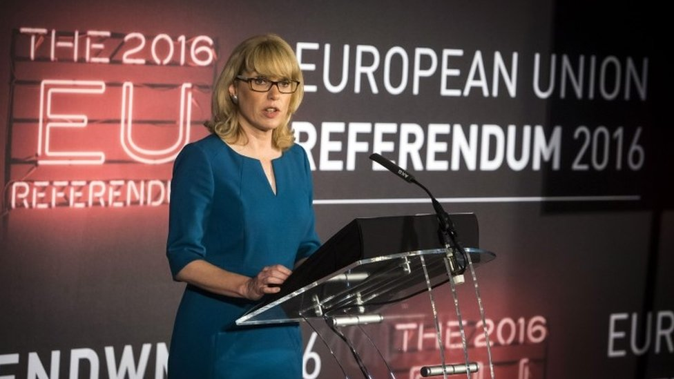 Jenny Watson the Chief Counting Officer for the EU referendum