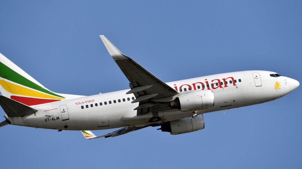 Foto de archivo tomada el 28 de noviembre de 2017 que muestra un Boeing 737 de Ethiopian Airlines NO USAR /BBC