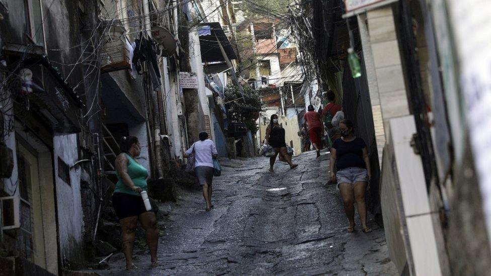 Stanovnici favela u Riju