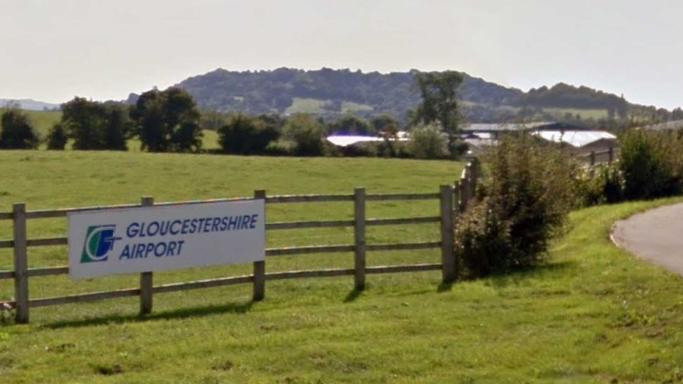 Pilot hurt in Gloucestershire Airport helicopter crash