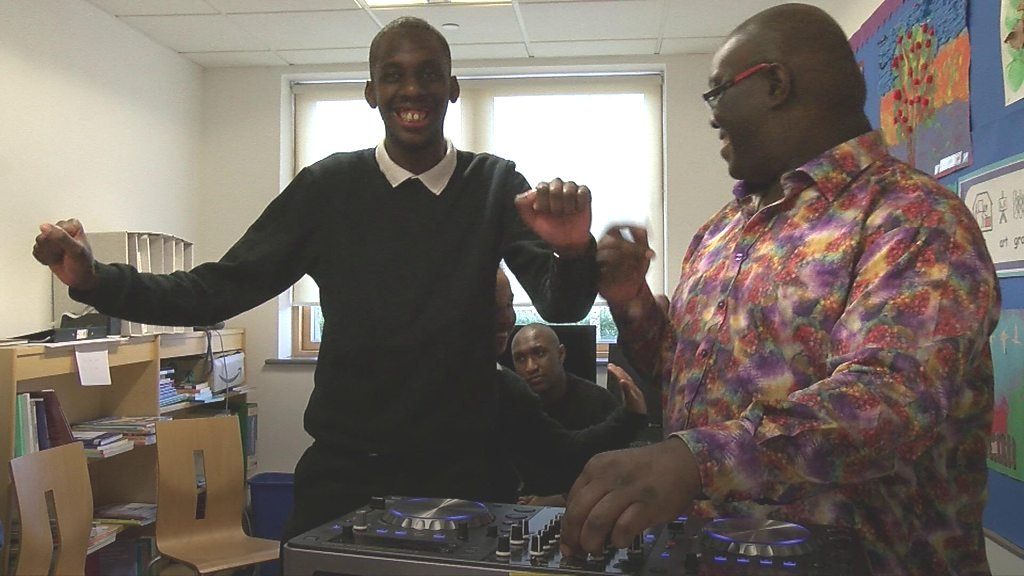 The school where pupils learn to DJ