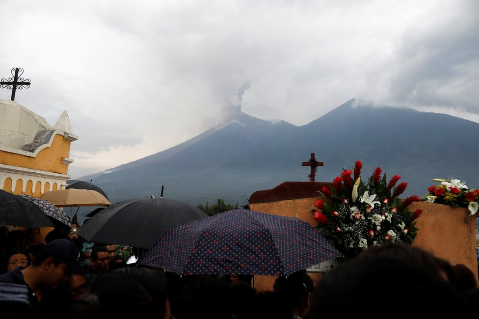 بركان فويغو بغواتيمالا