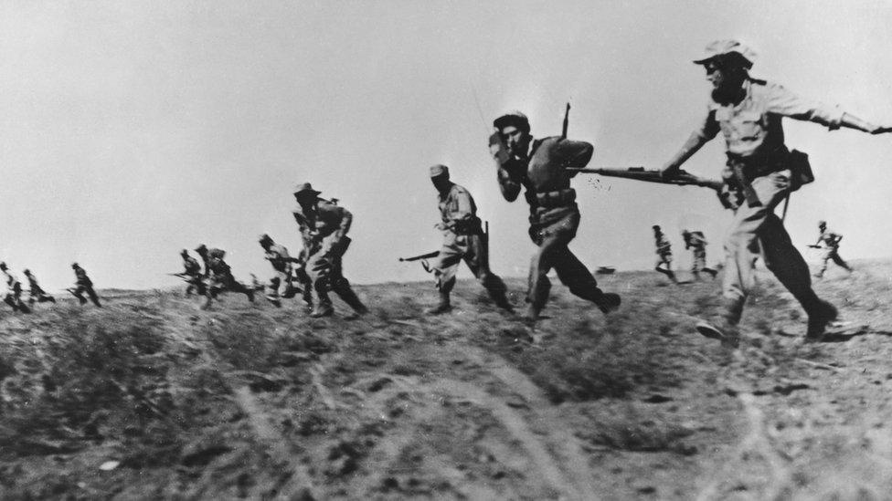 جنود إسرائيليون خلال حرب 48
