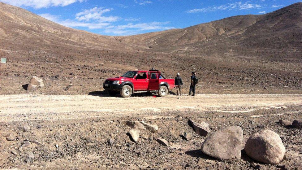 Los investigadores liderados por Schulze-Makuch viajaron a la zona más árida del desierto de Atacama en 2015, 2016 y 2017. (Foto: Dirk Schulze-Makuch/Universidad Estatal de Washington/PA)