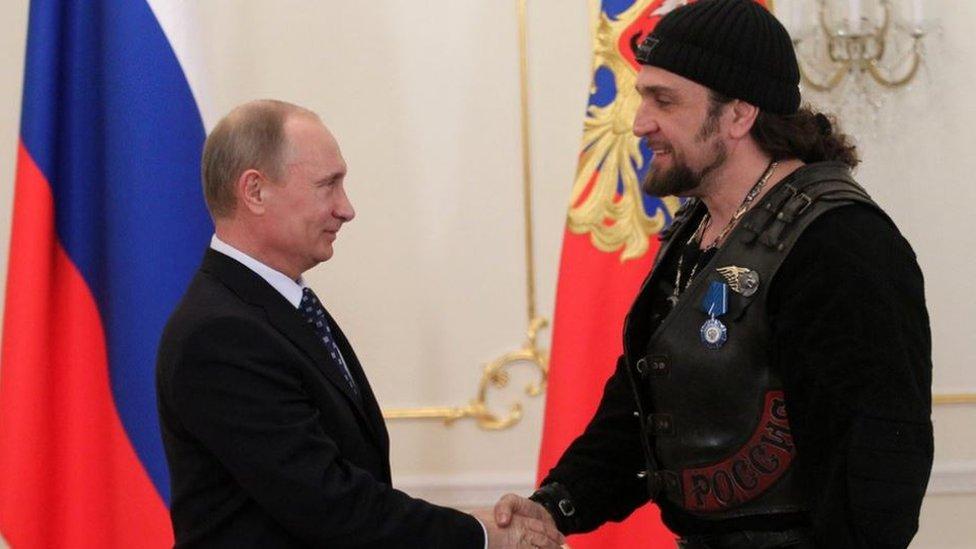 Aleksander Zaldostanov ve Putin