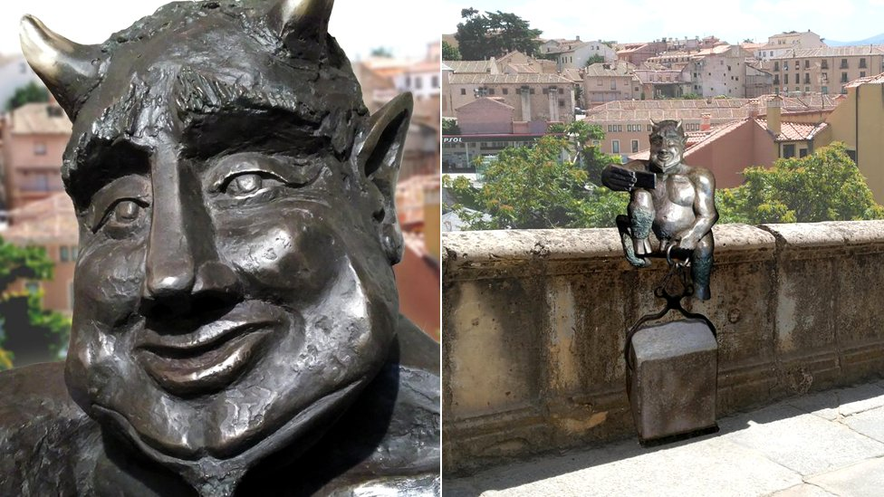 Spanish city protests against 'too friendly' devil sculpture