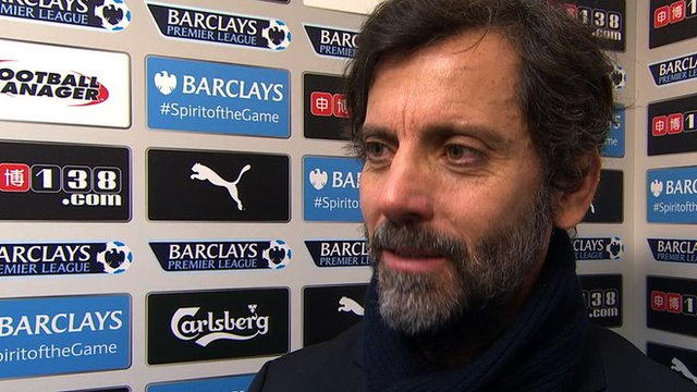 Watford manager Quique Flores