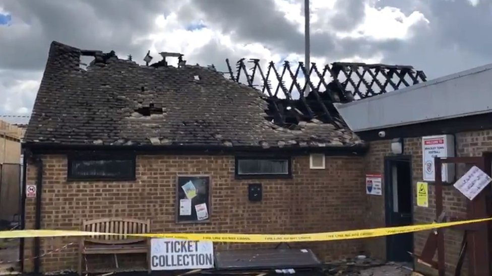Chelsea star's boyhood clubhouse destroyed by fire