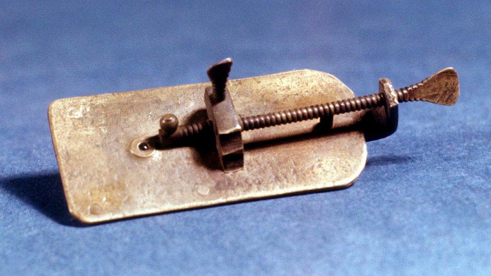 Microscopio de Anton Van Leeuwenhoek
