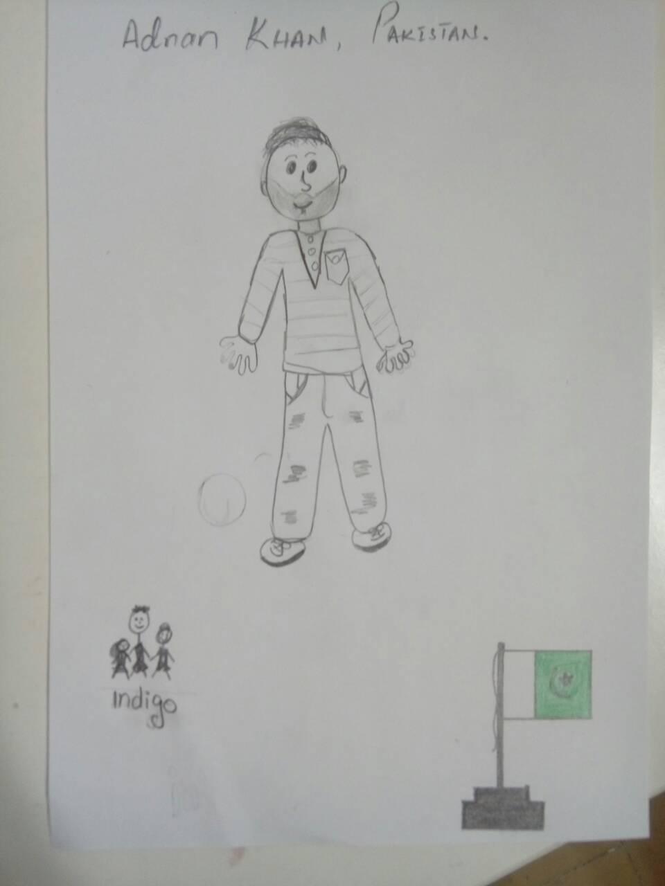 crtež Adnana Kana