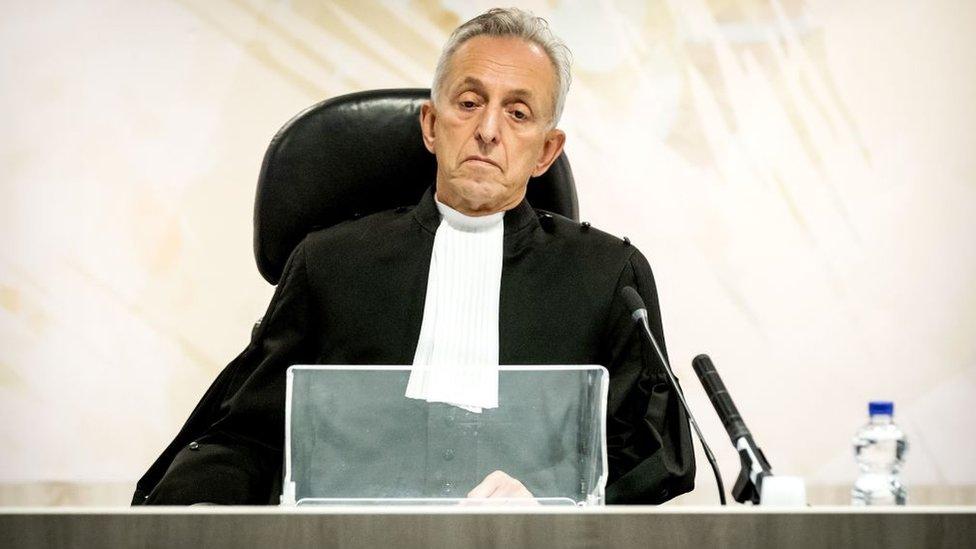 Juez del caso contra Willem Holleeder en HOlanda