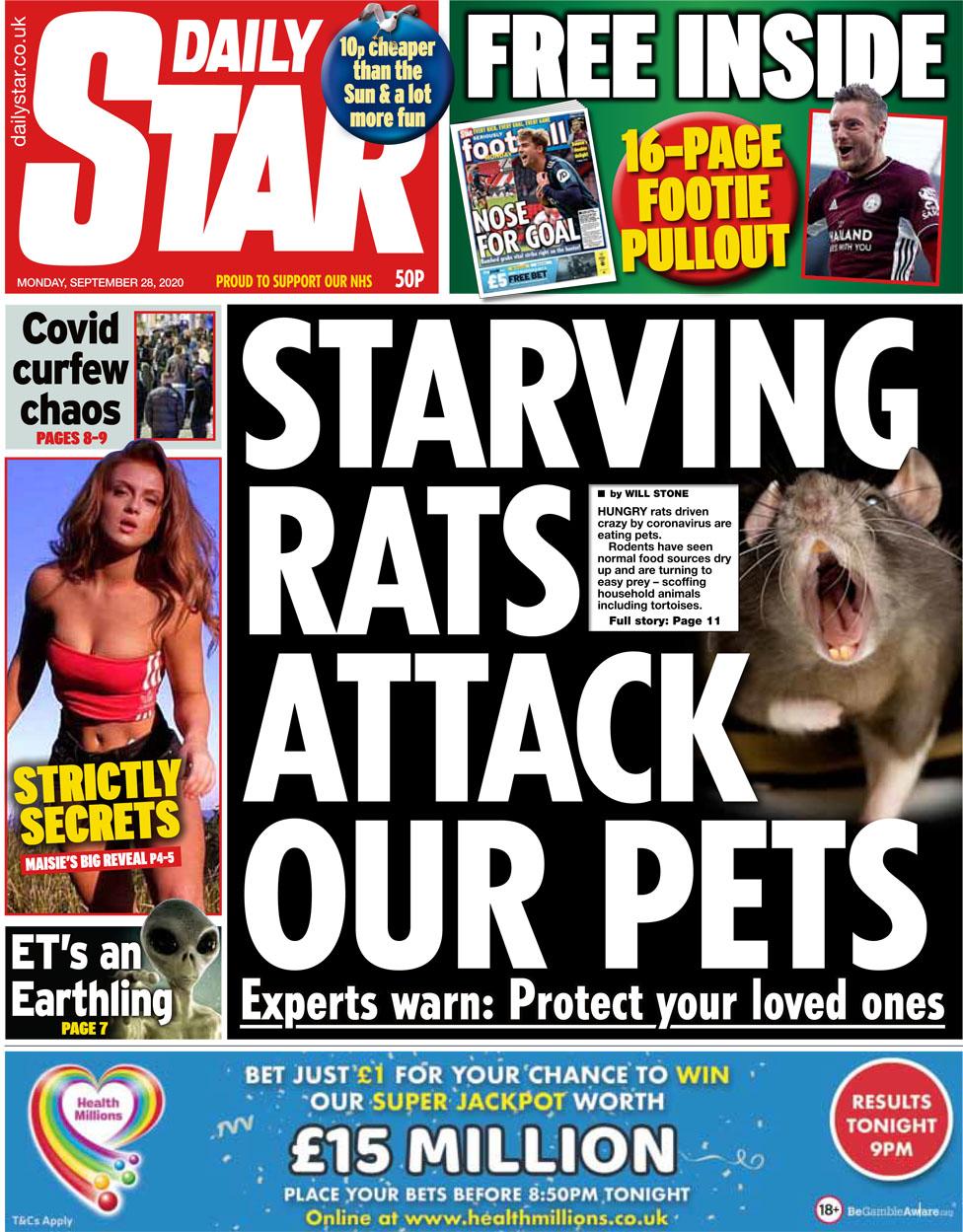 Daily Star 28 September