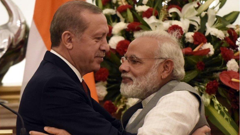 अर्दोआन ने कश्मीर की रट क्यों लगा रखी है