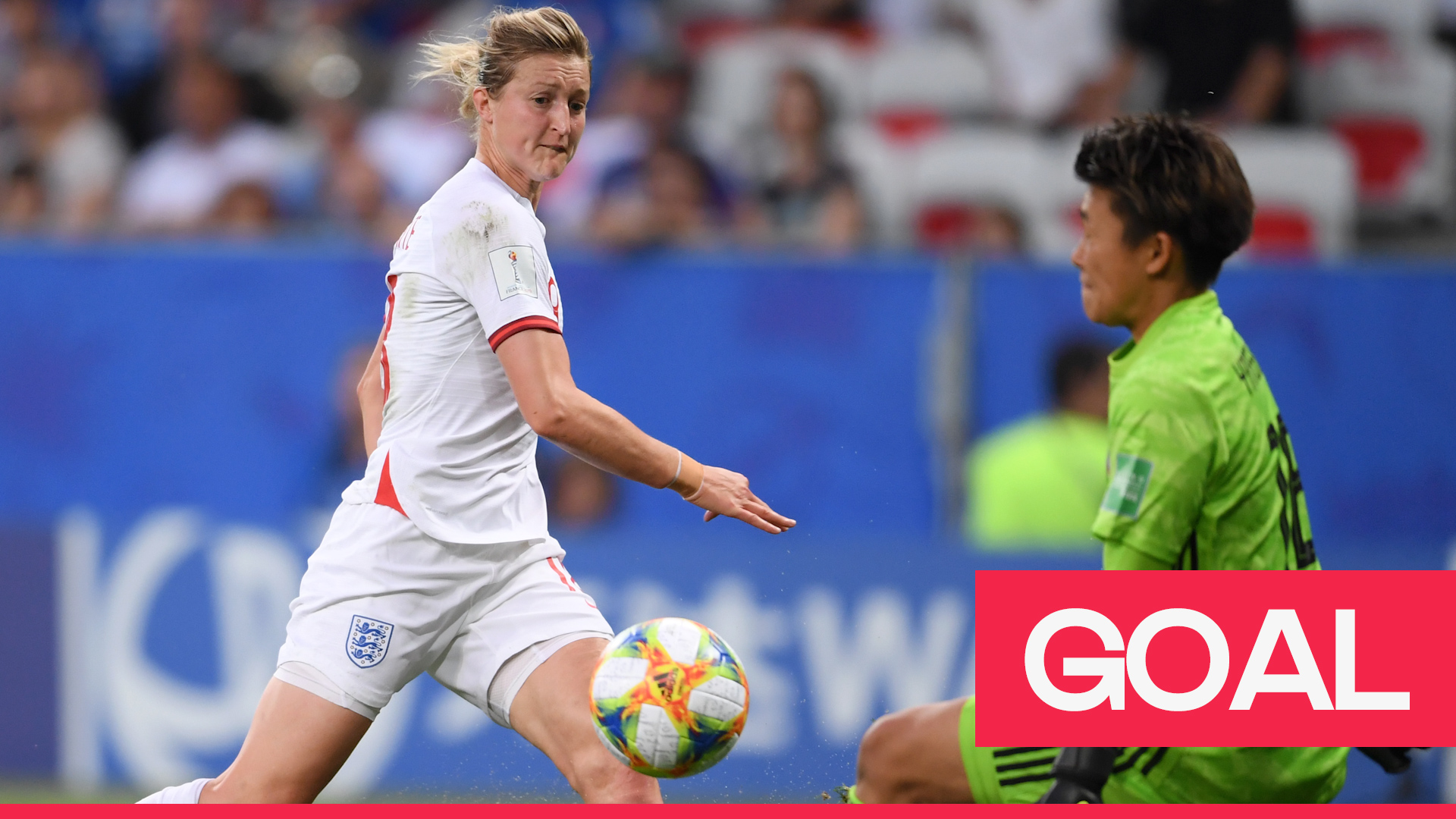 Women's World Cup 2019: White puts England ahead with a cool finish past Yamashita