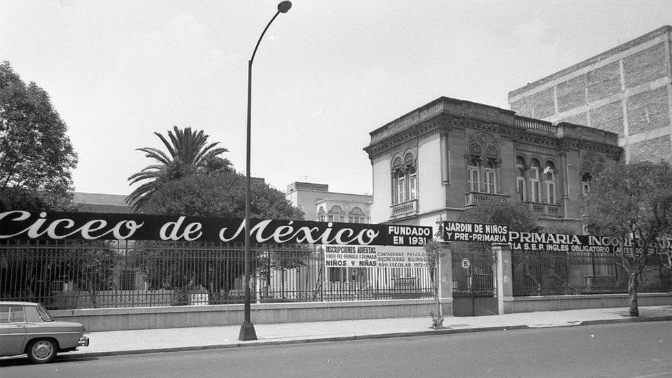 Colegio en la Calle Zacatecas