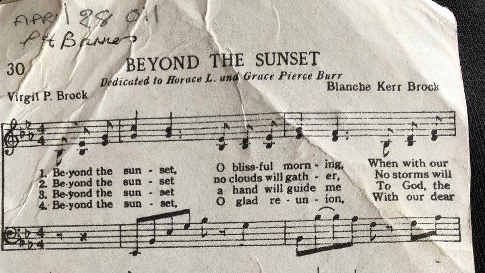 Beyond the Sunset sheet music