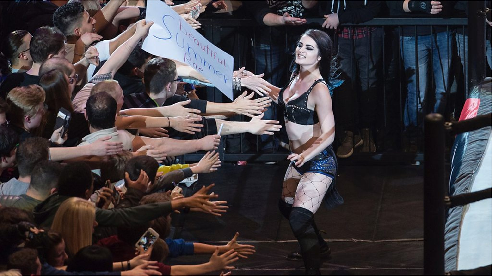 Paige WWE biopic produced by The Rock in Norwich premiere