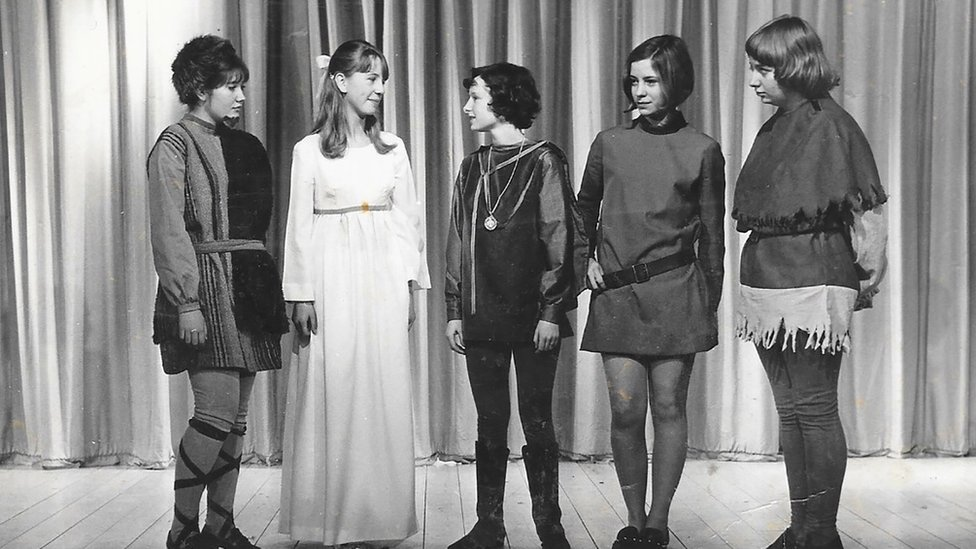 Victoria Wood in The Winter's Tale at school