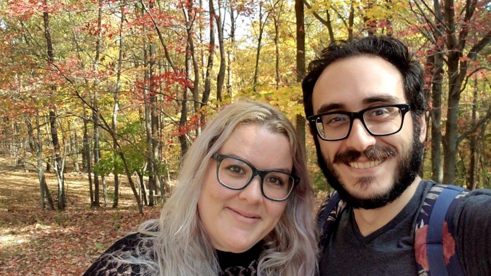 Mehmet y Jacquelyn Alpaslan se casaron en 2016