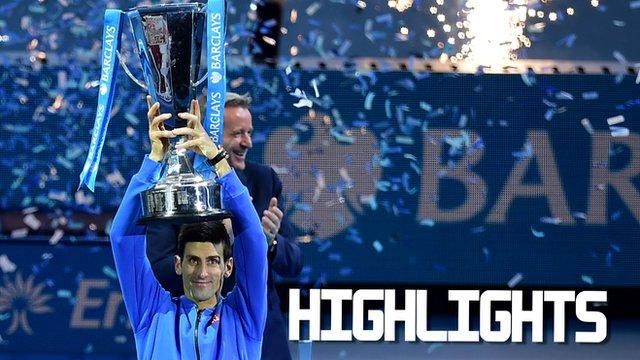Novak Djokovic wins ATP title