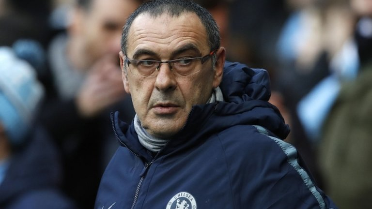 Maurizio Sarri set to be in charge for Chelsea's game against Malmo